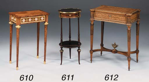 A FRENCH MARQUETRY AND GILTMET