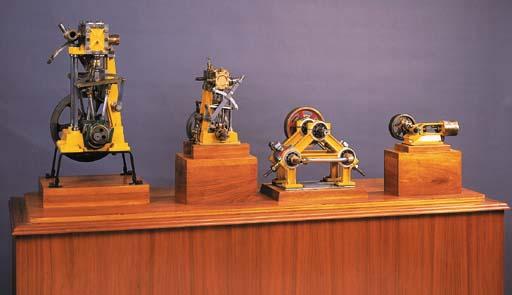 Four Whitney Engines,
