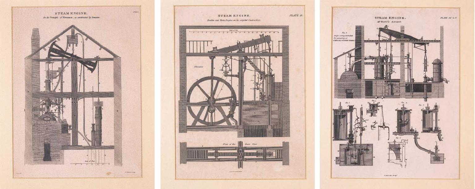 A collection of ten engravings