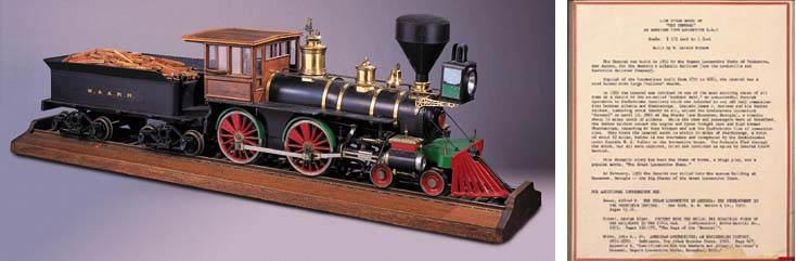 A detailed 1½: 1ft scale 7½in.