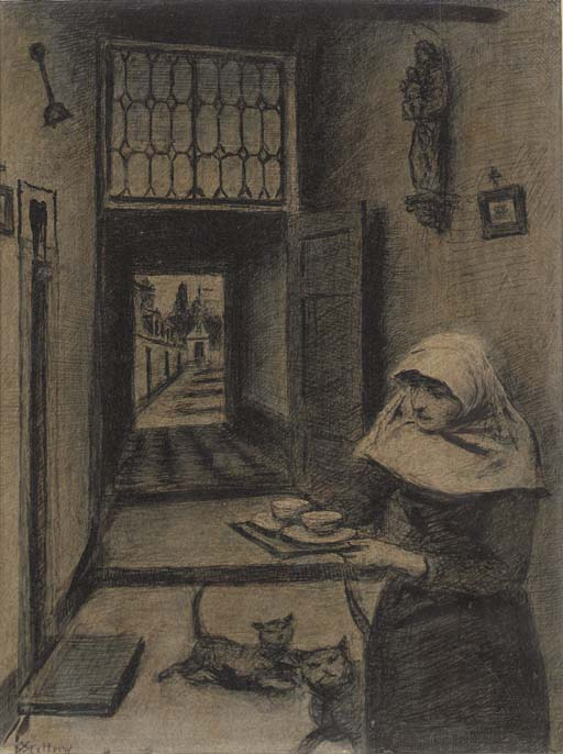 Xavier Mellery (Belgian, 1845-