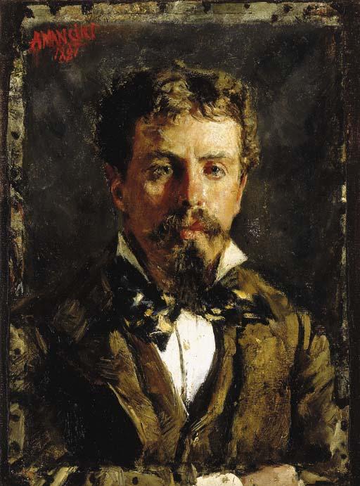 Antonio Mancini (Italian, 1852