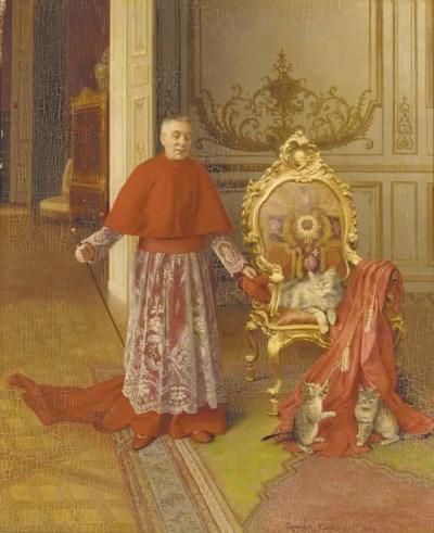 Georges Croegaert (French, 184