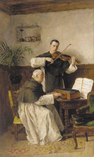Alfons Spring (German, 1843-19
