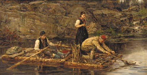 Hans Dahl (Norweigian, 1849-19