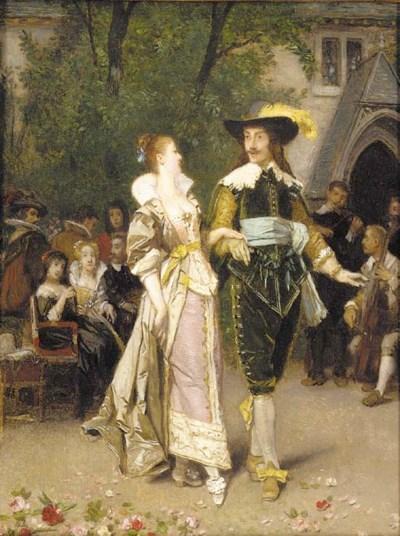 Florent Willems (Belgian, 1823