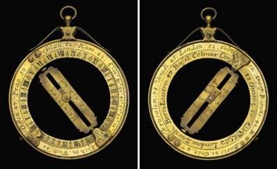 A fine 17th-Century brass univ