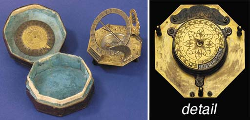A fine 18th-Century brass and