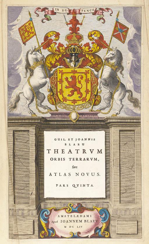 BLAEU, Willem & Jan.  Theatrum