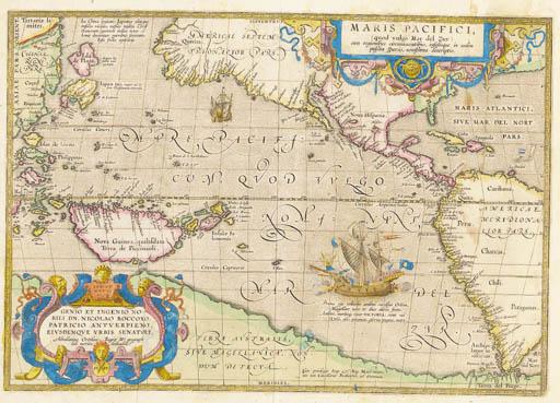 ORTELIUS, Abraham.  Maris Paci