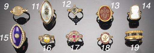 An 18th Century gold and hards