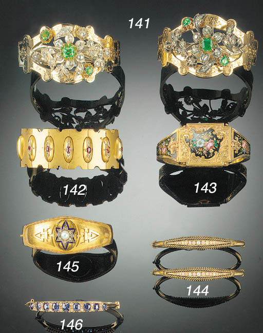 A 19th Century gold and enamel