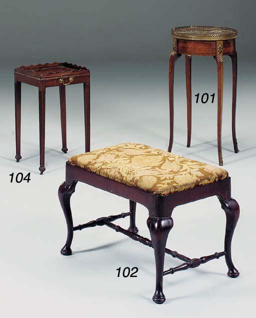 A French mahogany and giltmeta