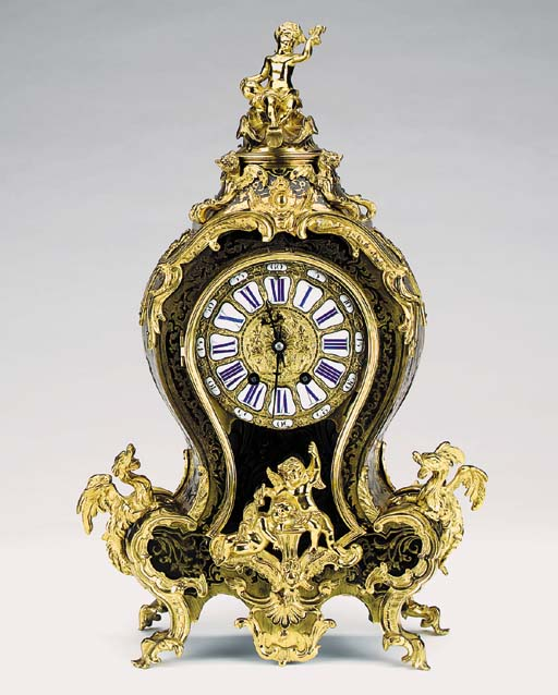 A French bronze mounted boulle