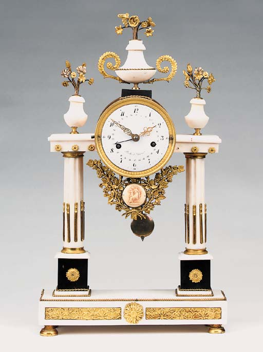 A Louis XVI ormolu mounted whi