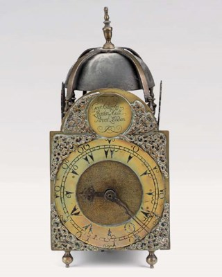 A George III brass striking la