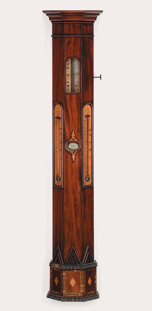 An unusual Victorian mahogany