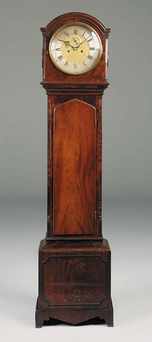 A William IV mahogany longcase