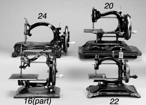 Two sewing machines: