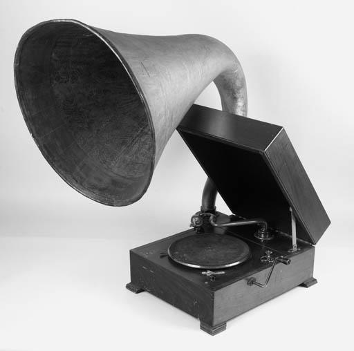 An EMG Mark IX gramophone,