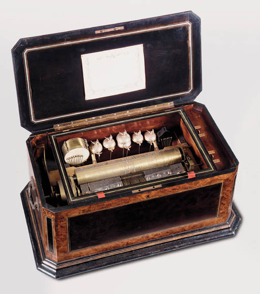 An orchestral musical box,