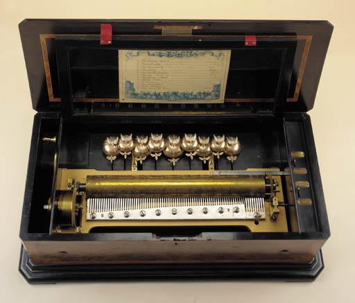 A musical box by Samuel Troll