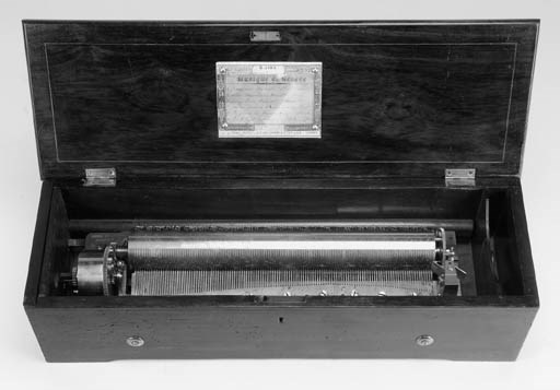 A forte-piano musical box by N