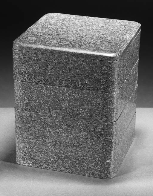 A Japanese four tiered square