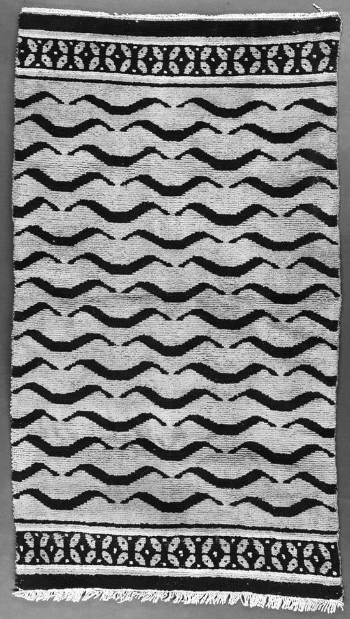 A Tibetan tiger pattern rug 19