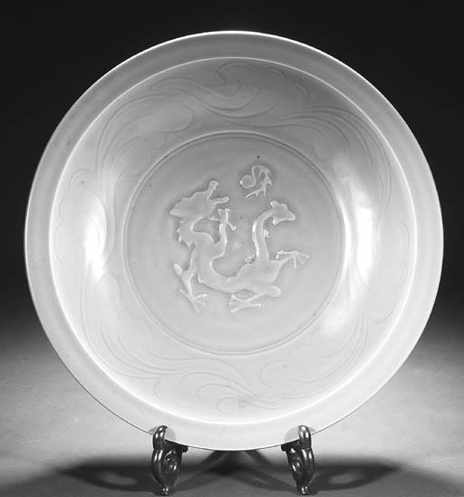 A large Chinese celadon glazed