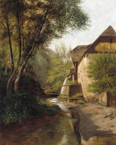 Ernst Krickl, circa 1891