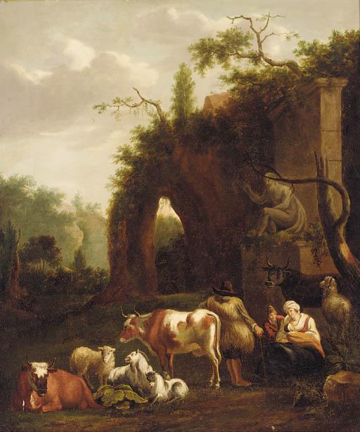 Manner of Dirck van den Bergen