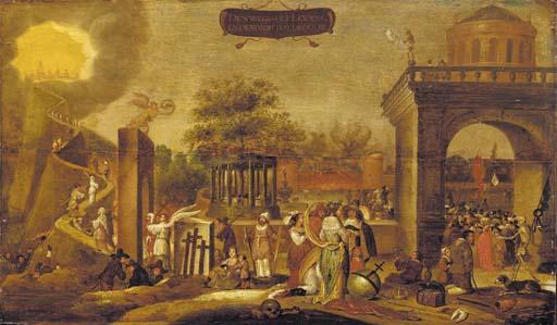 Circle of Joost Cornelisz. Dro