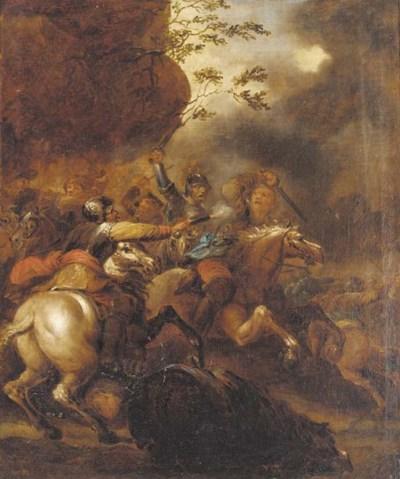 Circle of Francesco Casanova (
