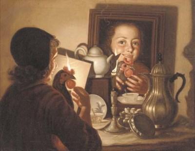 Manner of Godfried Schalcken