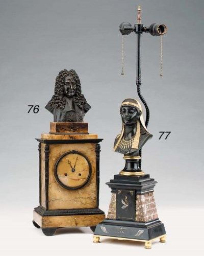 A French marble and bronze mou