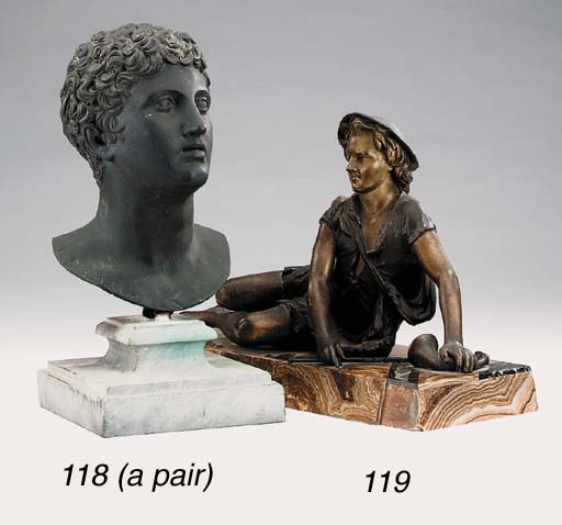 A Continental spelter figure o