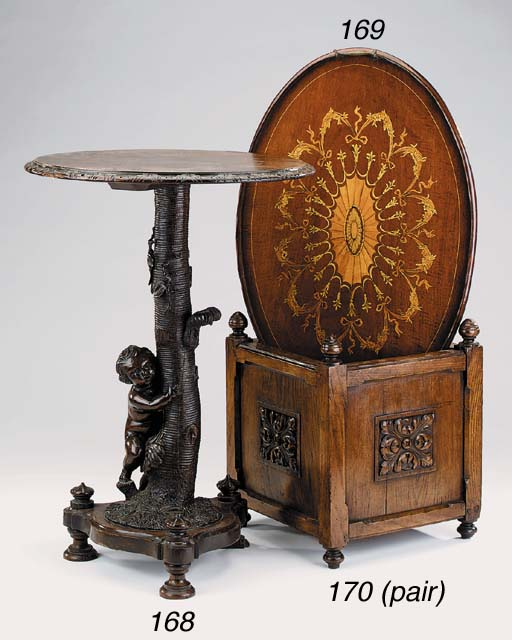 An English carved and stained
