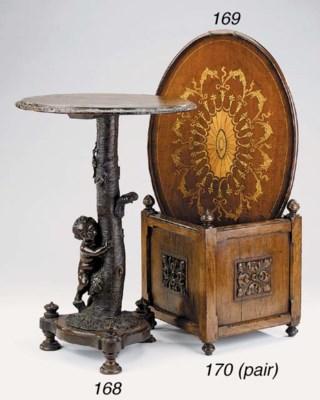An English mahogany tray, late