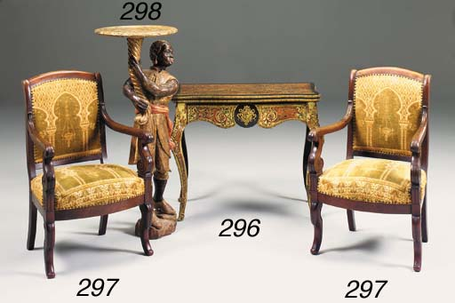 A Napolean III boulle marquetr
