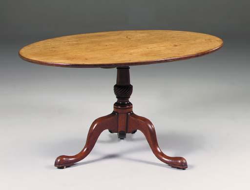 A mahogany breakfast table, la
