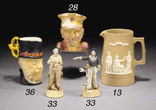 A Bovey Pottery figure of 'The