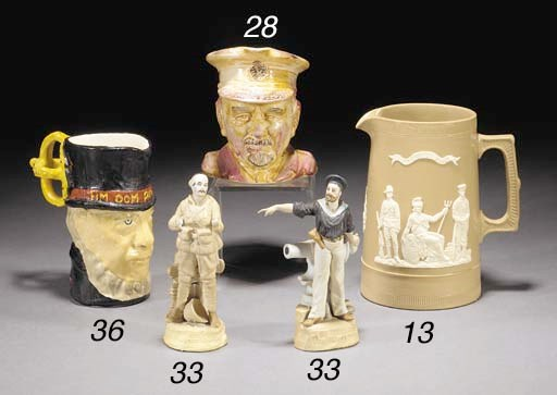 A pottery toby jug