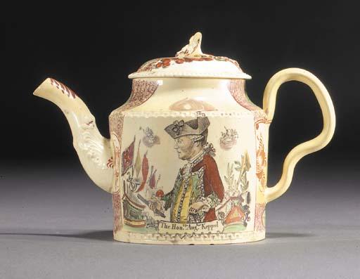 A William Greatbatch creamware