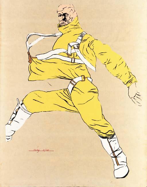 R.B Kitaj (B. 1932)