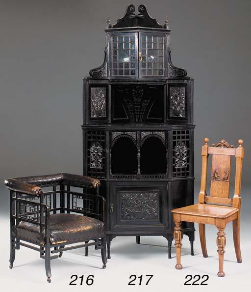 A Victorian Aesthetic ebonised