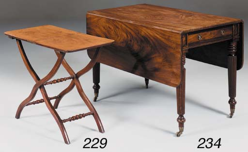 A Victorian mahogany coaching