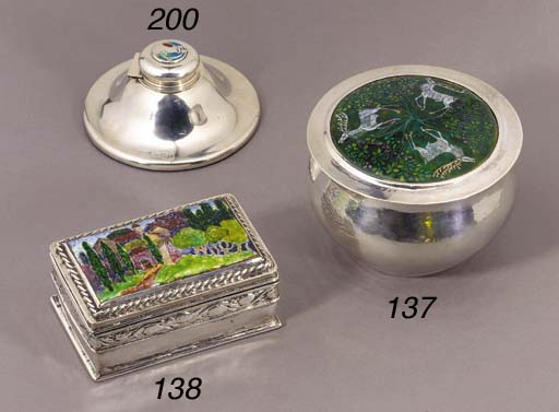 A RAMSDEN AND CARR SILVER AND