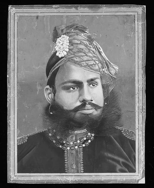 Portrait of a ruler Punjab, 19