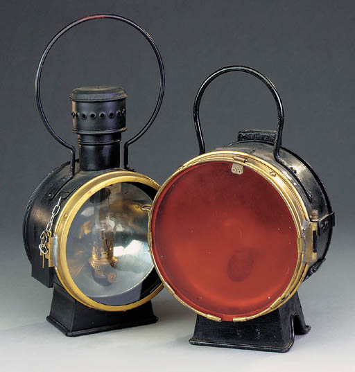 S.B.B. locomotive lamps
